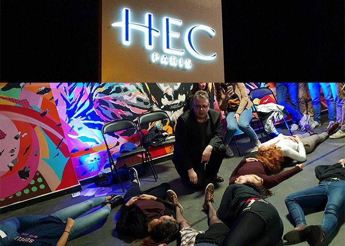 Spectacle hypnose pour HEC Paris