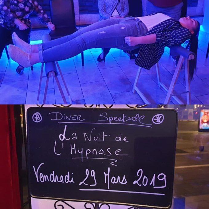 Repas spectacle à Saint Quentin