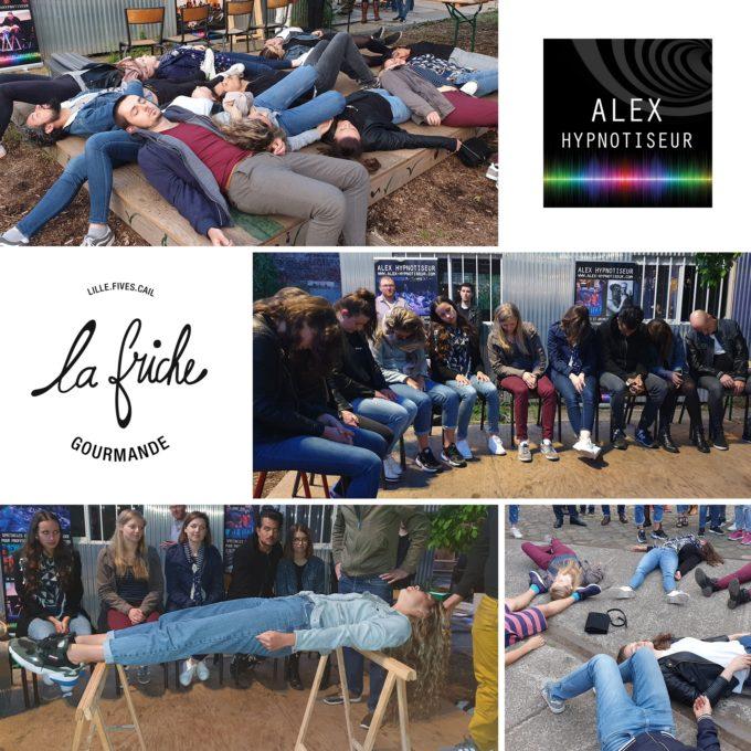 La Friche Gourmande de Lille sous hypnose