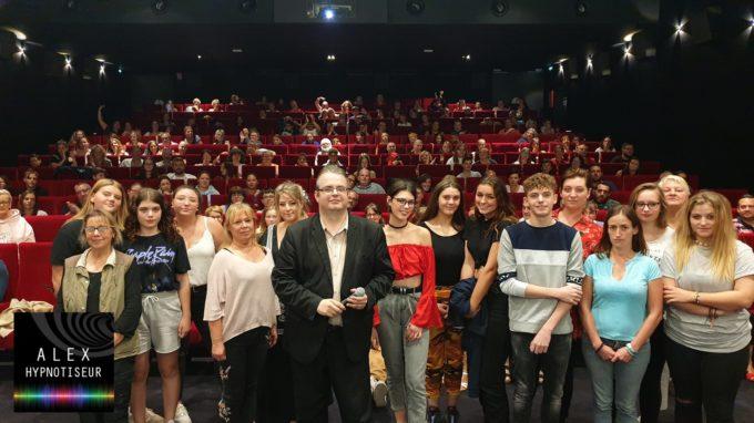 Cinéma Le Palace à Les Andelys sous hypnose