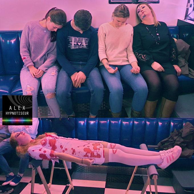 Memphis Roncq sous hypnose pour Halloween