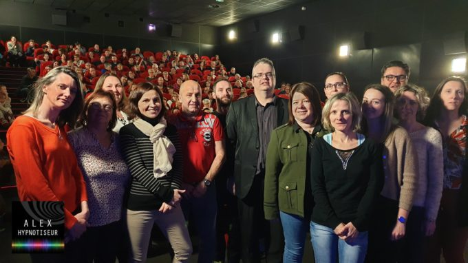 Le Cinéma de la Plage à Hauteville-sur-Mer sous Hypnose