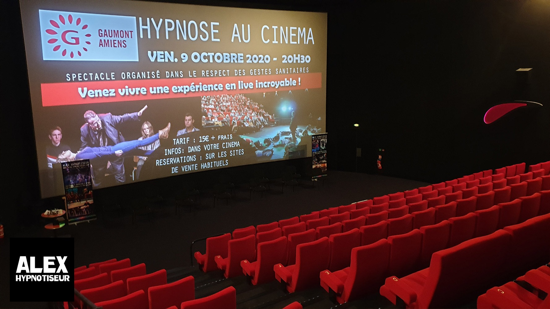 Spectacle Hypnose Amiens